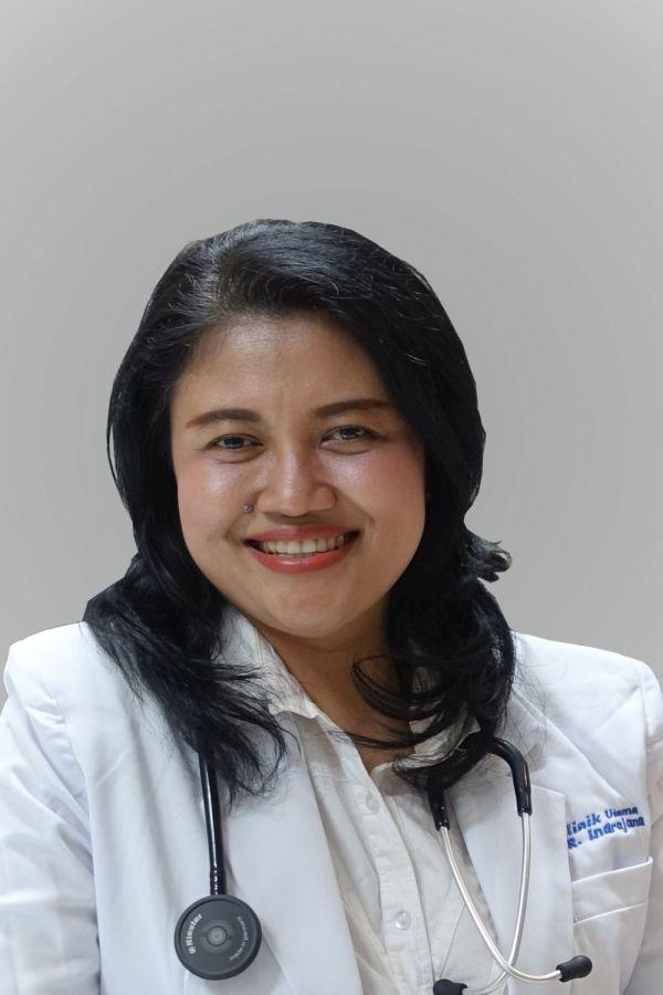 dr. Angela Mayasari Kardjito, Sp.P