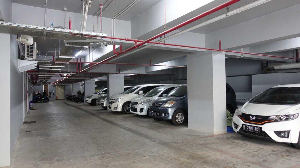 Parkir Klinik Utama DR Indrajana