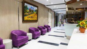 Ruang Tunggu Farmasi Klinik Utama DR Indrajana